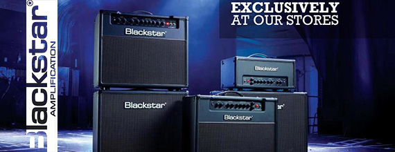 Blackstar is now available exclusively at Instruments Garage Stores