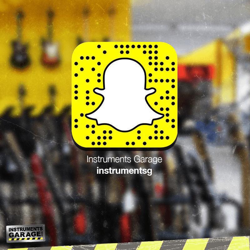 Follow Instruments Garage on Snapchat